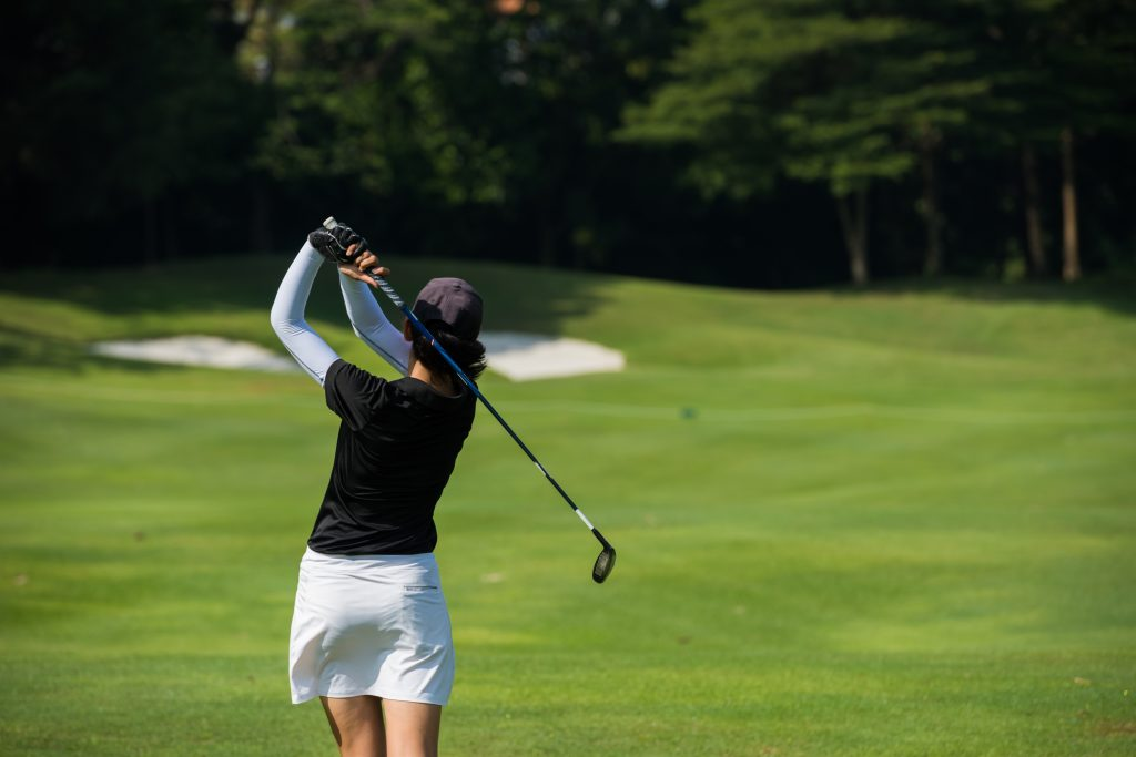 Fremont Hills Lady Golfer